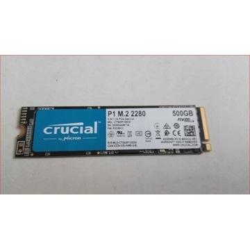 CRUCIAL P1 DYSK M.2 2280 NVME PCIe 500GB