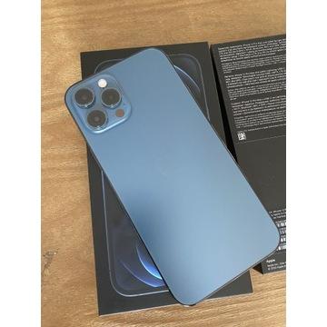 iPhone 12 Pro Max 128gb Pacyficzny - stan idealny