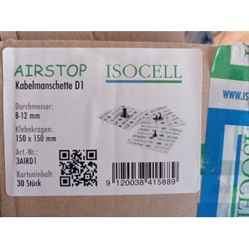 Isocell Airstop D1 kołnierz manszeta kabel 8-12mm