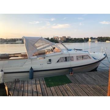 Łódź houseboat 8m motorowa