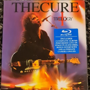 Trilogy - The Cure Blue Ray Absoluty Rare BCM