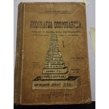 Cezak Jakób Stefan Geografia gospodarcza 1929r.