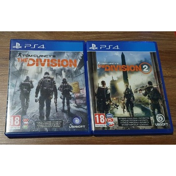 Gra PS4 The Division i The Division 2 PL