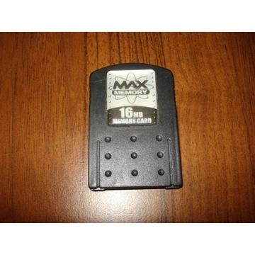Karta pamięci Max Memory 16MB PlayStation 2