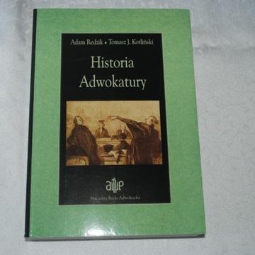 A. REDZIK. T.J. KOTLIŃSKI Historia Adwokatury