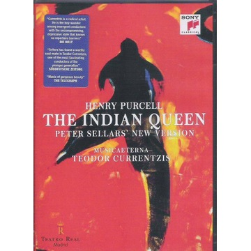 2DVD PURCELL Indian Queen CURRENTZIS, SELLARS