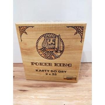 Poker King karty do gry 2x55