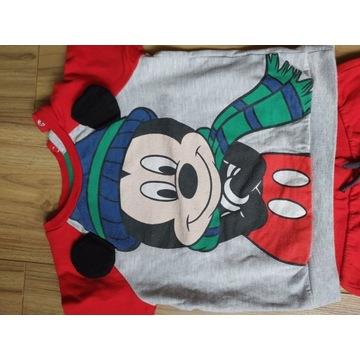 Komplet bluza spodnie 92 Disney Myszka Miki Mickey