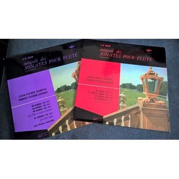 BACH Sonates Pour Flute ERATO Koopman Rampal 5 LP