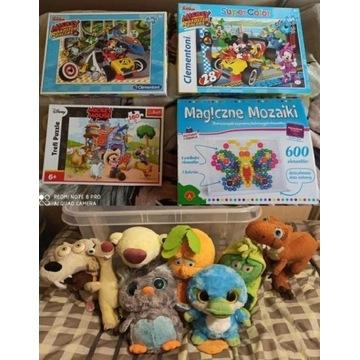 Puzzle X3 Mickey Magiczne mozaiki 600 Maskotki