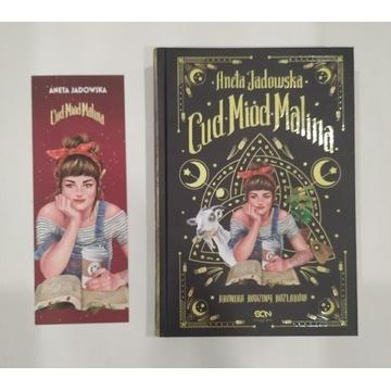 Cud miód malina Aneta Jadowska książka z zakładką