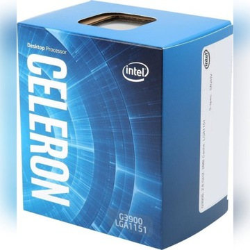 Intel Celeron G3900 2,8GHz BOX