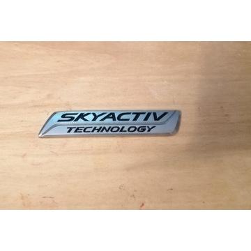 Emblemat Mazda SKYACTIV TECHNOLOGY