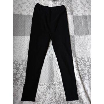 Wygodne legginsy ciążowe z panelem S