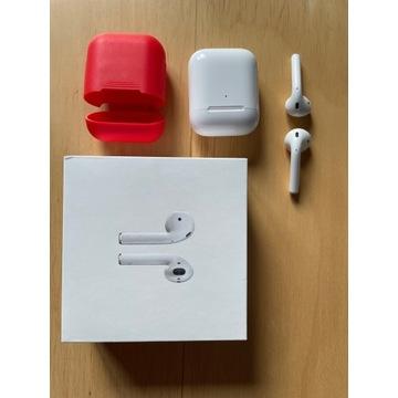 Apple AirPods 2 z etui ładującym - idealny stan