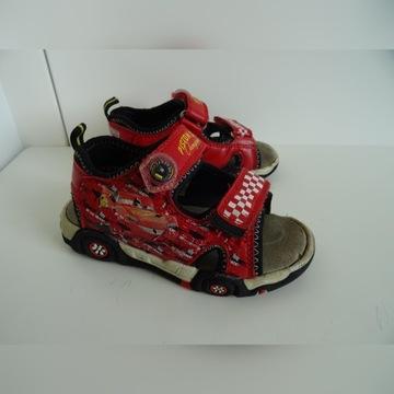 Sandałki Zygzak McQueen 26 wkładka 17