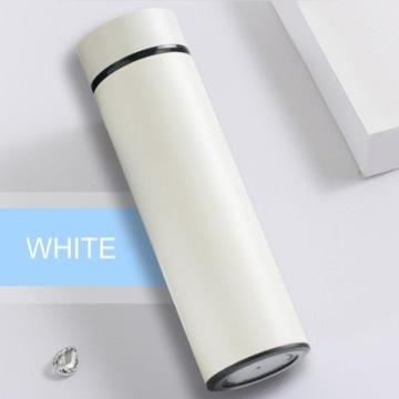Inteligentny termos Biały 500 ml + DARMOWA DOSTAWA