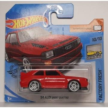 Hot Wheels - 1984 Audi Quattro Sport