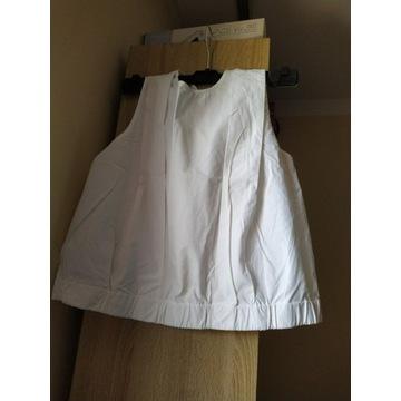 Biała bluzka  Top Mango L