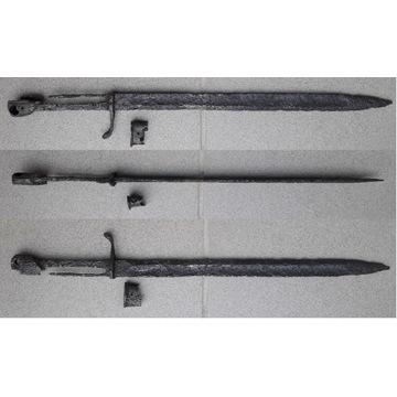 Bagnet pruski Gottscho S15 Mauser I wojna