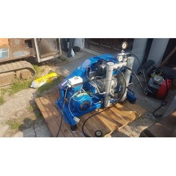 Kompresor do ładowania butli 200/300 bar