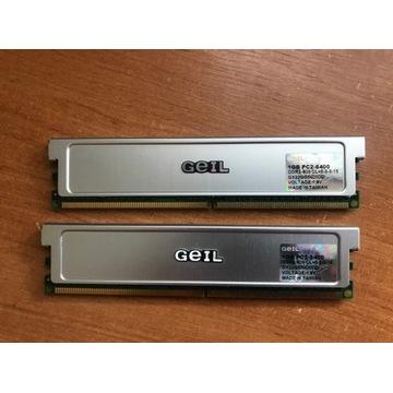 GEIL 2GB (2x1GB) PC 800