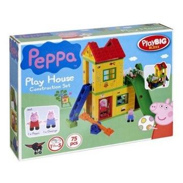 Peppa plac zabaw klocki