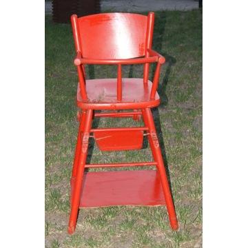 Krzesełko do karmienia Jasienica PRL