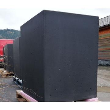 Donica betonowa 75x75x100h (beton architektoniczny