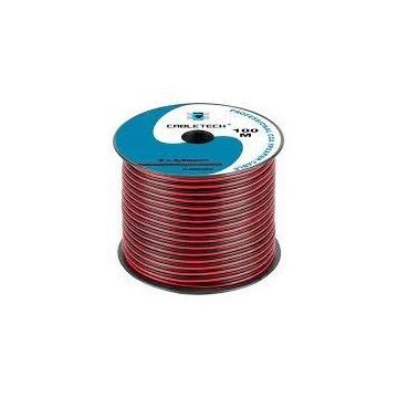 Kabel zasilający  CCA 2 x 0,50mm 2mb (Głośnikowy)