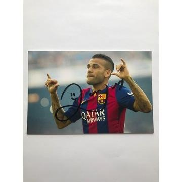 Oryginalny autograf Daniego Alvesa!