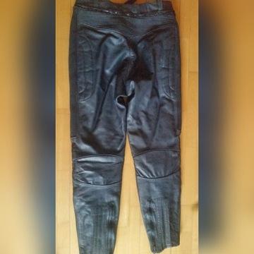 Spodnie skórzane motocyklowe 52