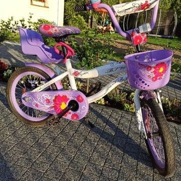 """Rower Merida Flower BF 16"""" rowerek dla dziewczynki"""