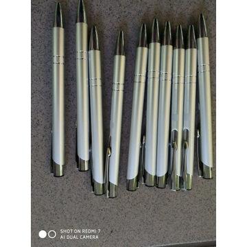 Długopisy metalowe 11 sztuk