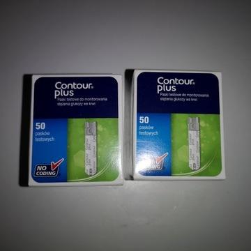 Paski Contour Plus dwa pudełka