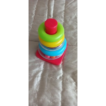 Zabawka piramida układanka Carousel