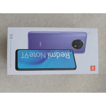 Smartfon Xiaomi Redmi Note 9T 5G 4/128GB Czarny