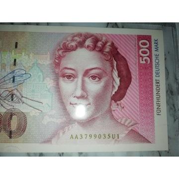 500 marek niemieckich stan nowyDM RFN