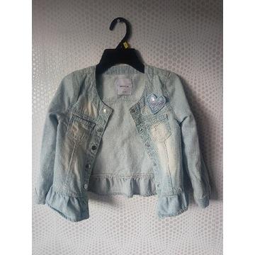Kurtka jeansowa Reserved 116 cm stan b. dobry