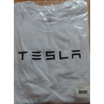 Koszulka damska TESLA, rozmiar M, nowa, oryginalna