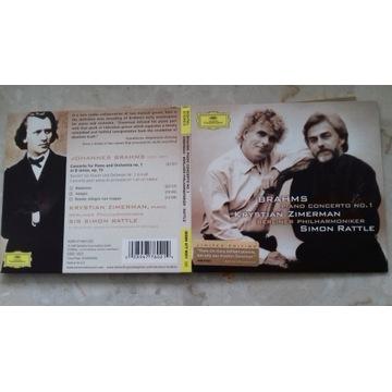 Brahms Piano Concerto no. 1 Zimerman Rattle