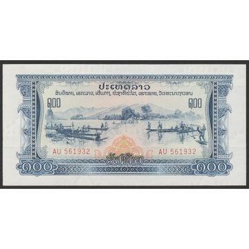 Laos 100 kip ( kipów ) 1968 - stan bankowy UNC