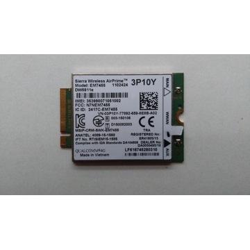 Modem WWAN LTE 4G EM7455 DW5811E 3P10Y Dell E7470