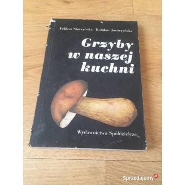 Książka Grzyby w naszej kuchni.