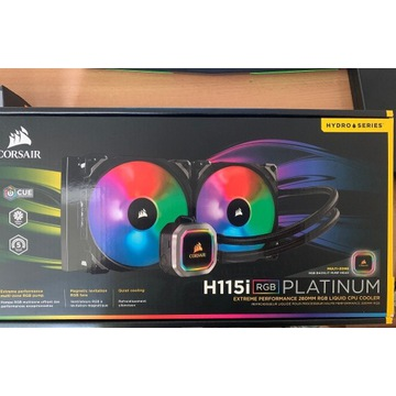 Chłodzenie AiO Corsair H115i RGB PLATINUM