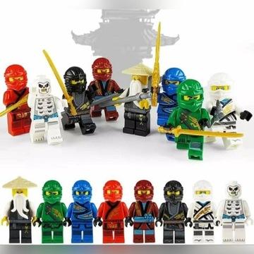Figurki. Ludziki ninjago nowa edycja
