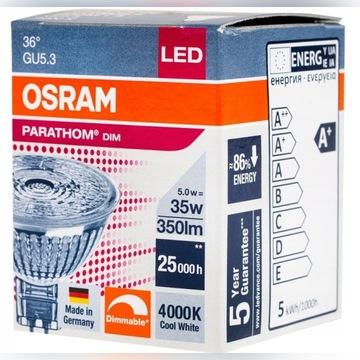 OSRAM PARATHOM LED 12V MR16 5W 4000K