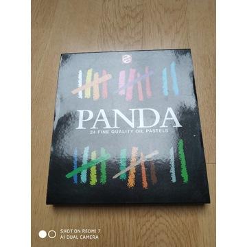 Sprzedam tanio NOWE pastele firmy PANDA-24 kolory