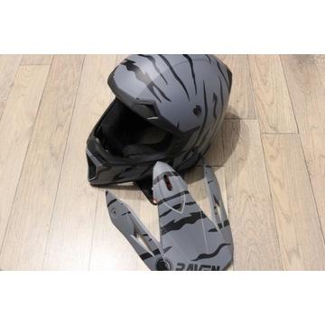 Kask RAVEN na motor/rower FULLFACE roz M