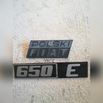 Znaczek POLSKI FIAT, 650E